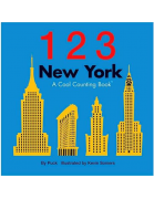 1 2 3 New York: A Cool Counting Board Book