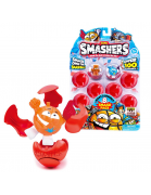 ZURU Smashers Series 1 8 Smash Pack with Collector's Guide - Surprise Figure (Colors Styles May Vary)