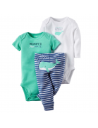 3 carters baby boy layette-set