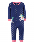 Unicorn Jumpsuit Baby Girl