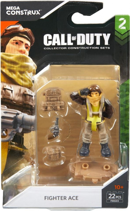 Фигурка Пилот - Mega Construx Call of Duty - Action Figure - Fighter Ace - FMG03